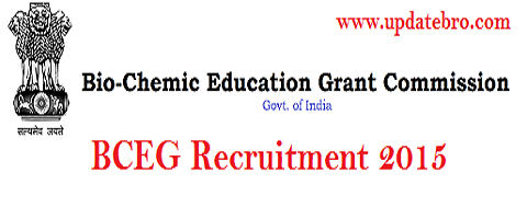 BCEG Recruitment 2015