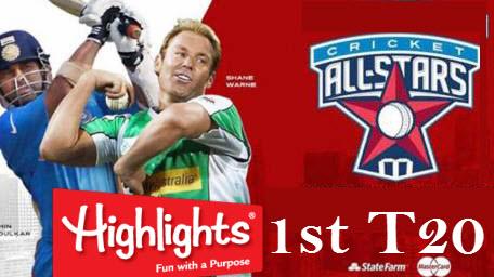 all stars 1st t20 highlights