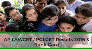 AP-LAWCET-PGLCET-Results-2016