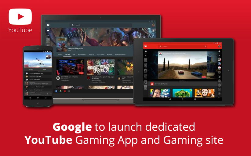 YouTube Gaming Site