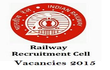 RRC Recruitment 2015