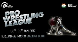 pro wrestling league 2017 schedule