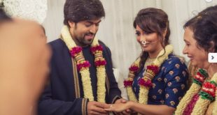 yash radhika pandit wedding pictures