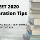 NEET 2020 Preparation tips